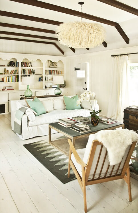 Start With White living room