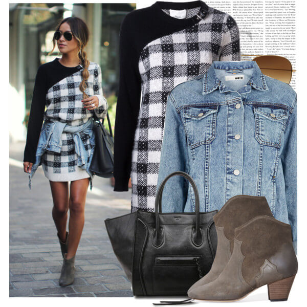 Plaid fashion by Philip Lim