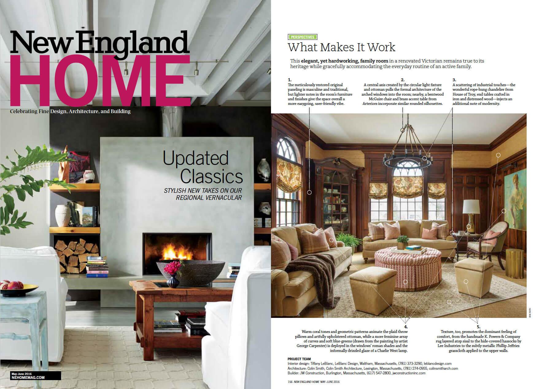 Boston Interior Designer Leblanc Interior Design