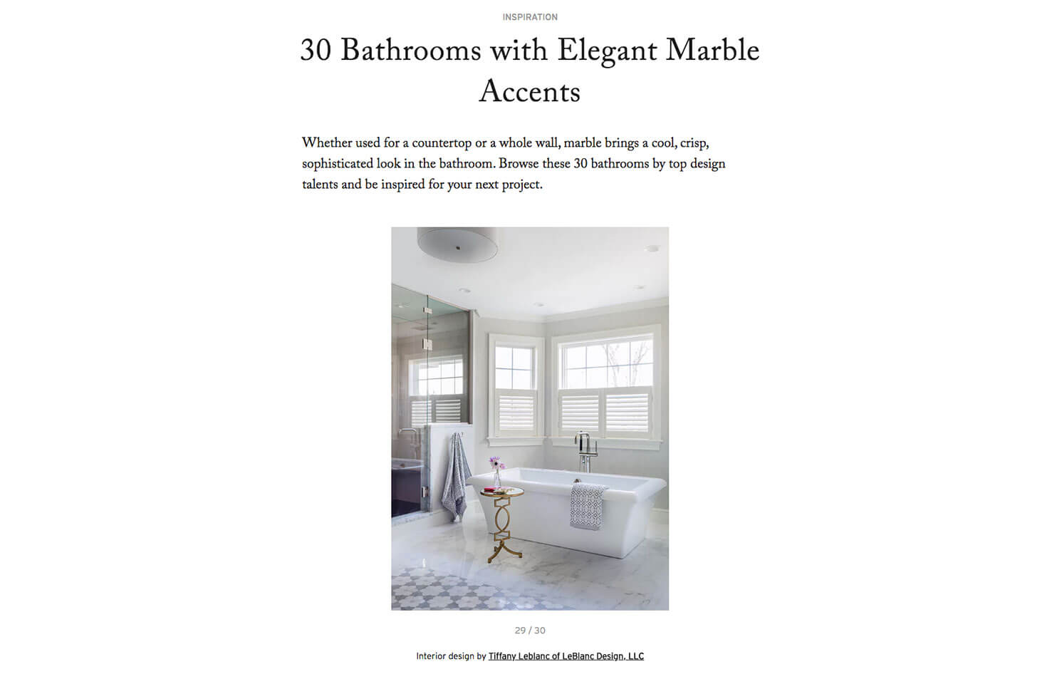ba361a09250 Leblanc Design Dering Hall