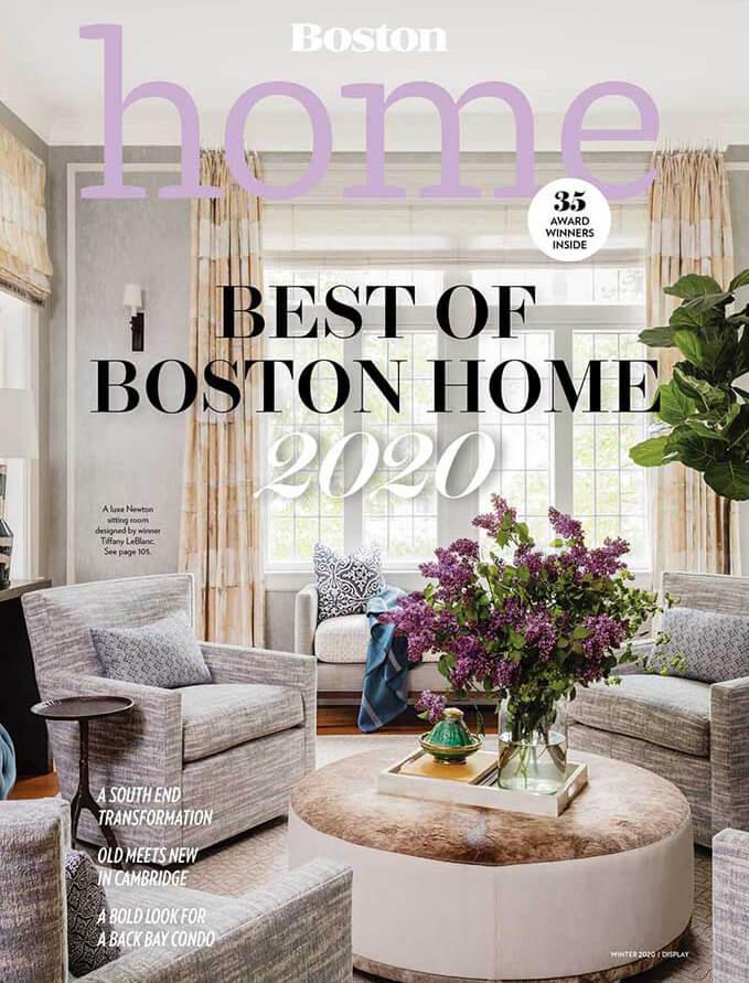 Best of Boston Home 2020 LeBlanc Design